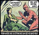 Humorous Vintage Comics- Bear Meat Joke by tommytidalwave
