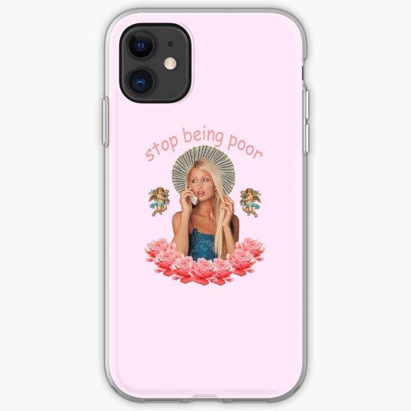 Paris Hilton 'Stop Being Poor' iPhone Soft Case