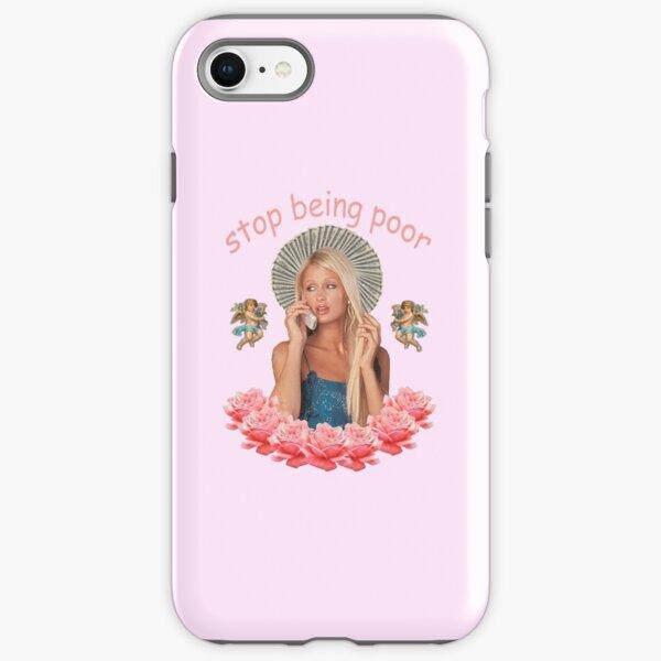 Paris Hilton 'Stop Being Poor' iPhone Tough Case