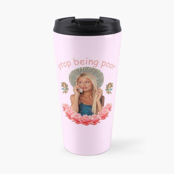 Paris Hilton «Arrête d'être pauvre» Mug isotherme