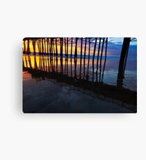 Oceanside California Pier at Sunset Canvas Print