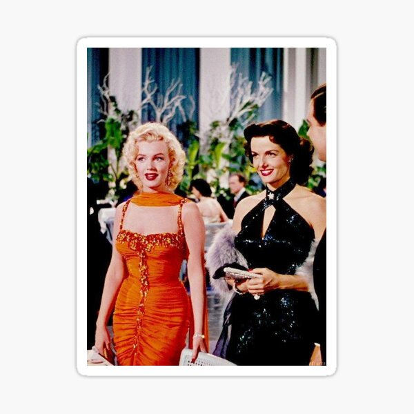 famous actress marilyn vintage Sticker