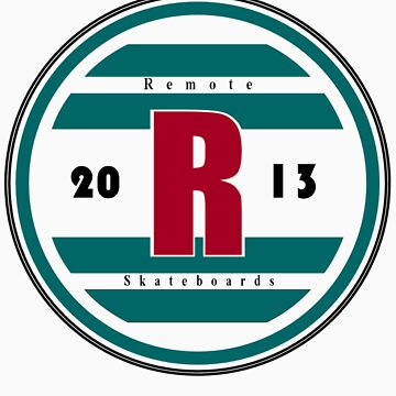 Remote 2013 Team Shirt by RemoteSkate