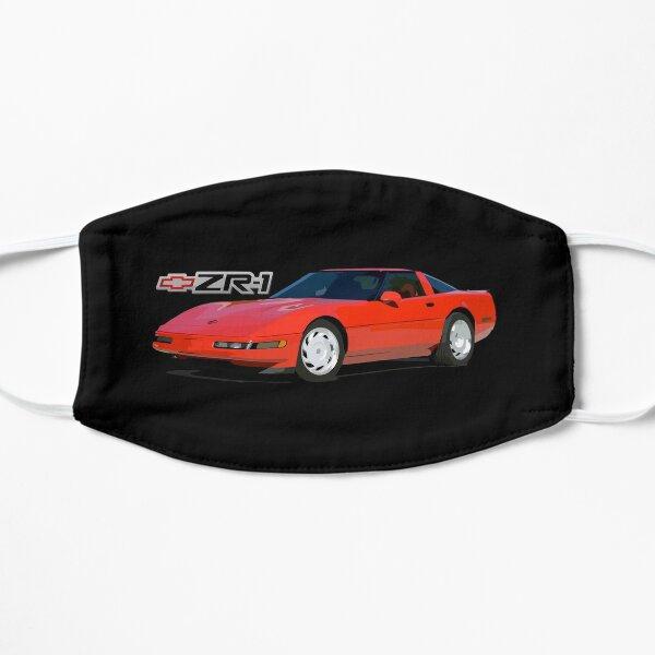 Red 1991 Chevy Corvette C4 ZR-1 Mask