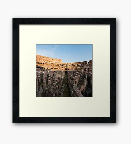 Il Colosseo IV Framed Print