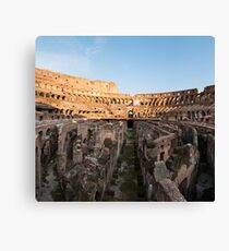 Il Colosseo IV Canvas Print