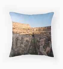 Il Colosseo IV Throw Pillow