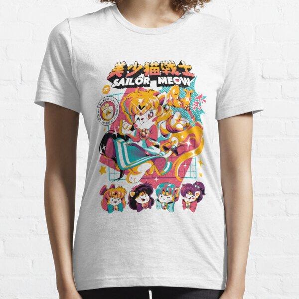 Ein Anime von Kätzchen, die auf dem besten Weg magisch sind! Essential T-Shirt