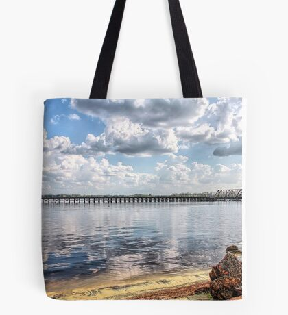 Waterways & Railways Tote Bag