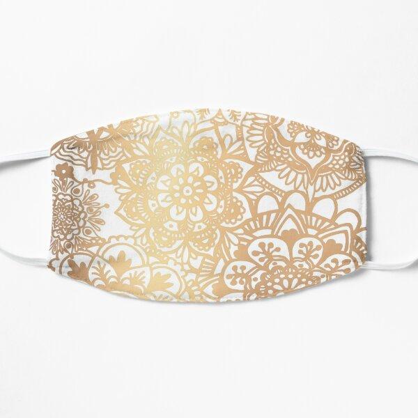 Gold Mandala Pattern Mask