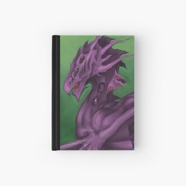 Purple Dragon Hardcover Journal