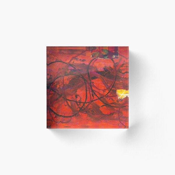 Piece of my Heart #13 Acrylic Block