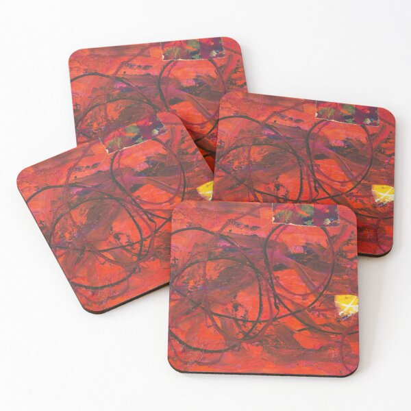 Piece of my Heart #13 Coasters (Set of 4)