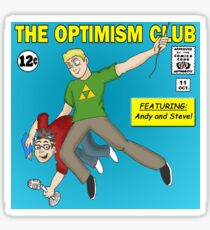 The Optimism Club Logo - Standard Sticker
