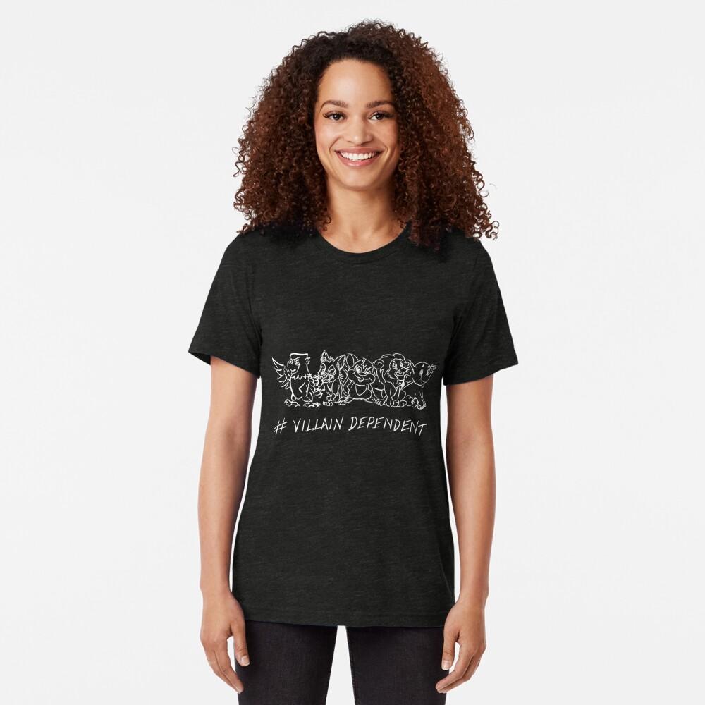 Villain Dependent Poker Tri-blend T-Shirt