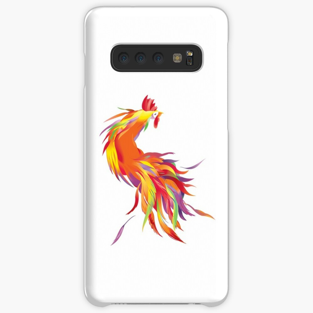 Red Cock Case & Skin for Samsung Galaxy