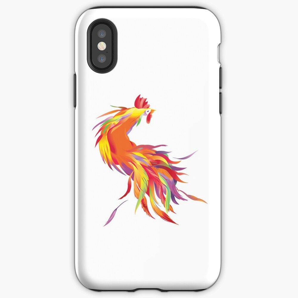 Red Cock iPhone Case & Cover