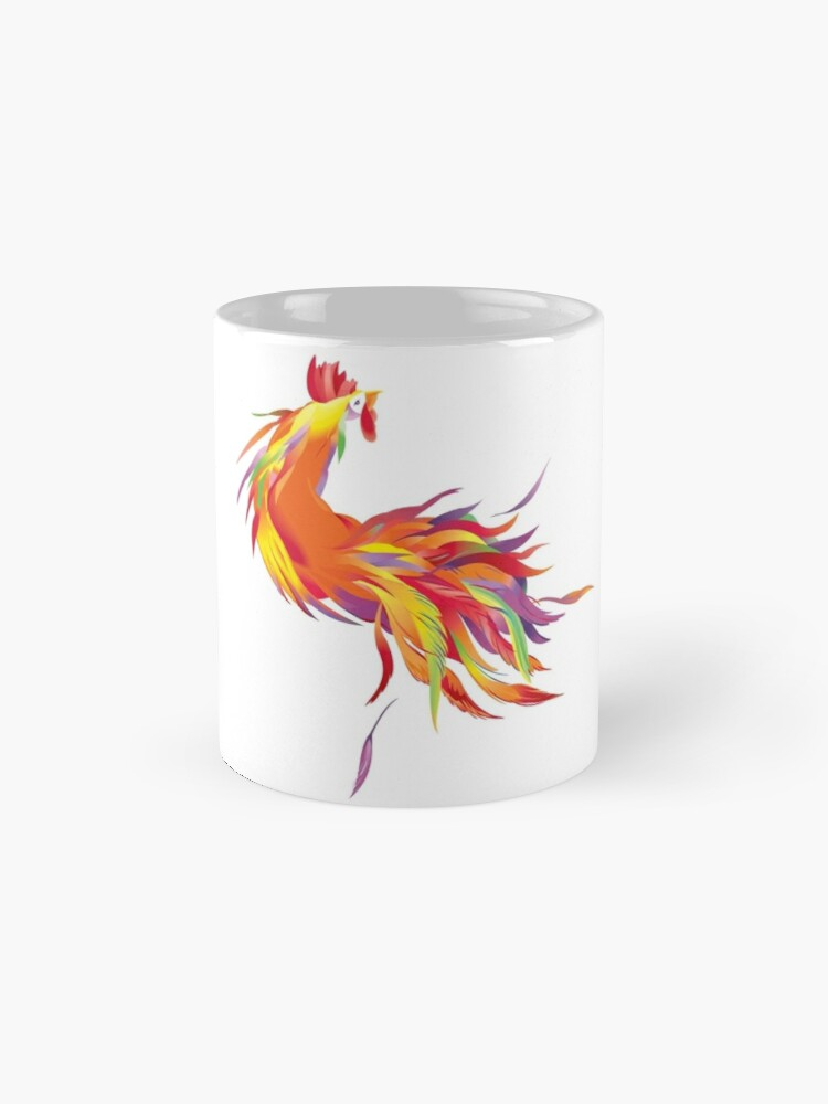 Alternate view of Red Cock Mug