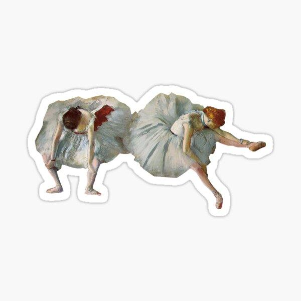 "Degas's ""Two Ballet Dancers"" Sticker"