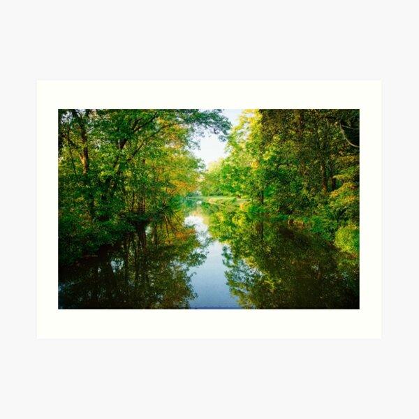 The D & R Canal Art Print