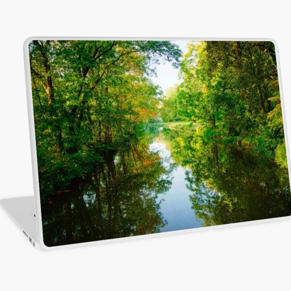 The D & R Canal Laptop Skin