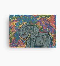 Playful Elephant Canvas Print