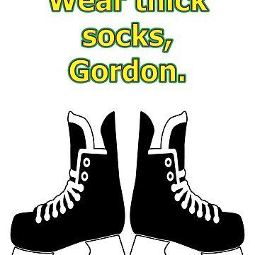 Thick socks, Gordon by MightyDucksD123