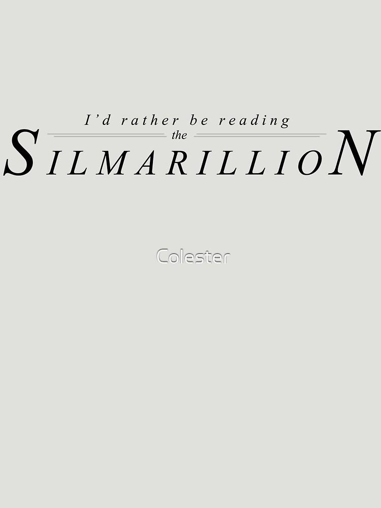 Reading the Silmarillion | Unisex T-Shirt
