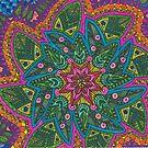 Flower Kaleidoscope by Sara Hooks