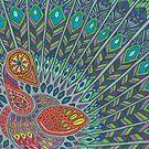 Peacock by Sara Hooks