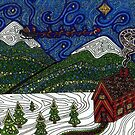 Holiday Mountains by Sara Hooks