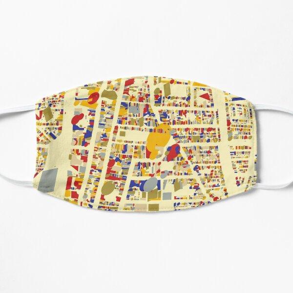 Delft Map Qlimt Style Flat Mask