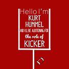 Kurt Hummel, Kicker by tlcollins402