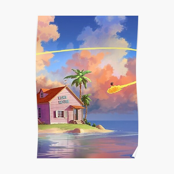 Dragon Ball / Kame House Poster