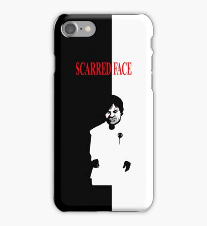 Scarred Face iPhone Case/Skin