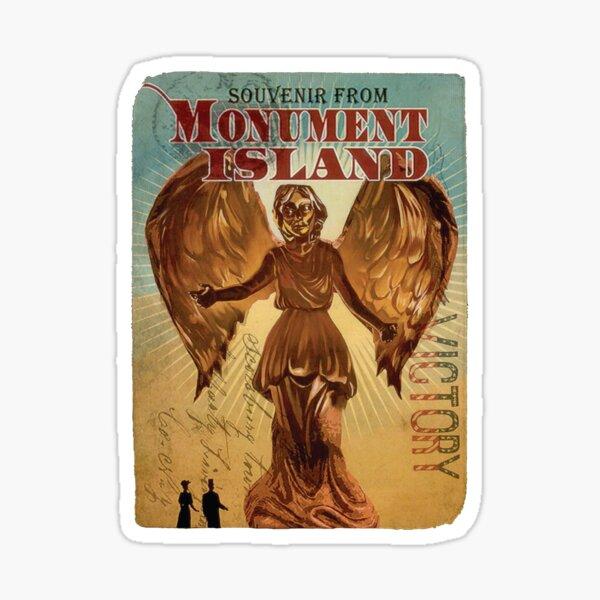 BioShock Infinite – Souvenir from Monument Island Sticker