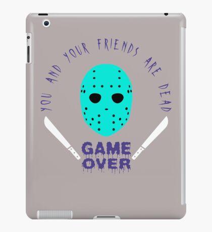 Friday the 13th iPad Case/Skin