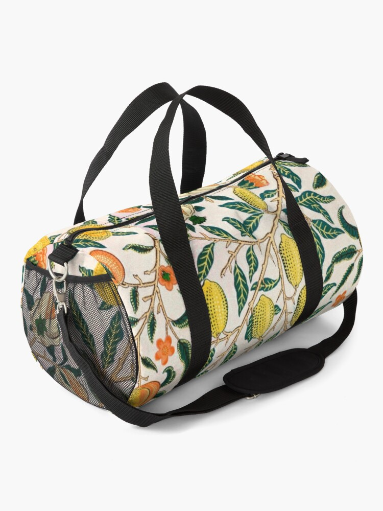 Alternate view of Fruit or Pomegranate by William Morris, 1865-66 Duffle Bag