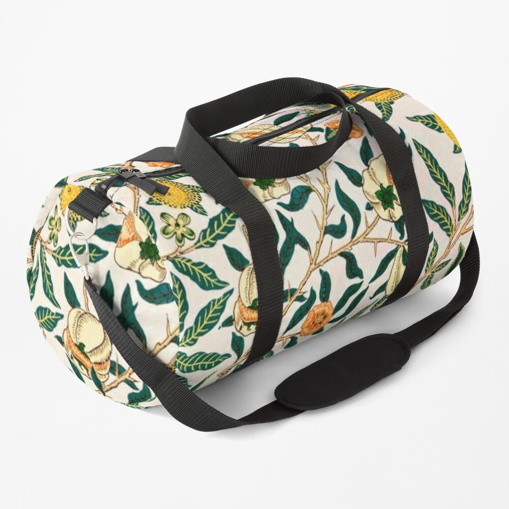 Fruit or Pomegranate by William Morris, 1865-66 Duffle Bag
