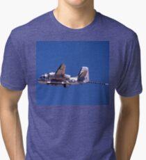 Grumman Tracker @ RAN Nowra Airshow, Australia 1997 Tri-blend T-Shirt