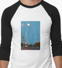 Moon over Lightning Ridge Men's Baseball ¾ T-Shirt