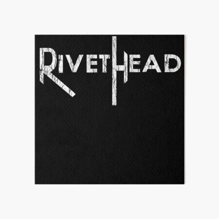 RIVETHEAD logo Art Board Print