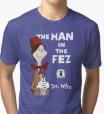 The Man In The Fez Tri-blend T-Shirt