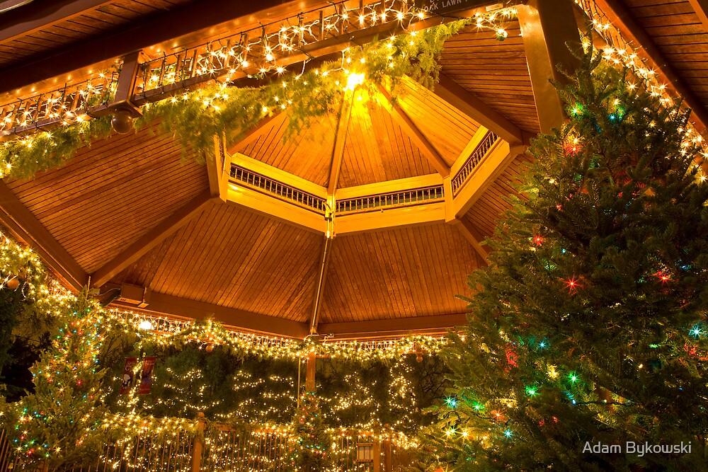Christmas Gazebo by Adam Bykowski