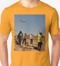Photographing Connie, Avalon Airshow, Victoria, Australia 2013 Unisex T-Shirt