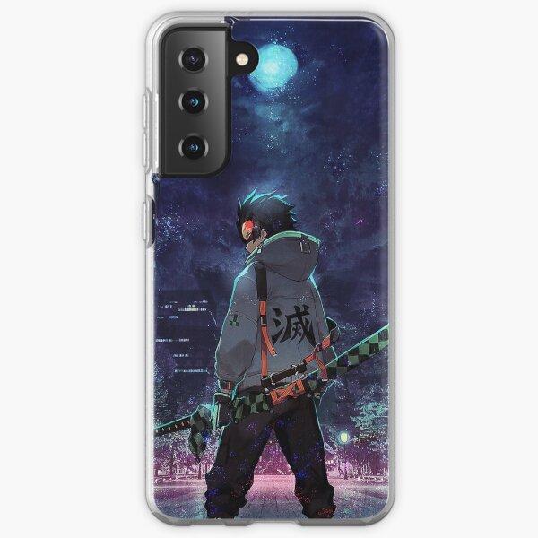 Demon Slayer / Tanjiro Retro Coque souple Samsung Galaxy
