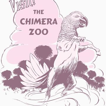 Chimera Zoo (pink) by AllenWinchester