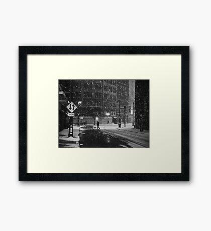 Ahead Framed Print