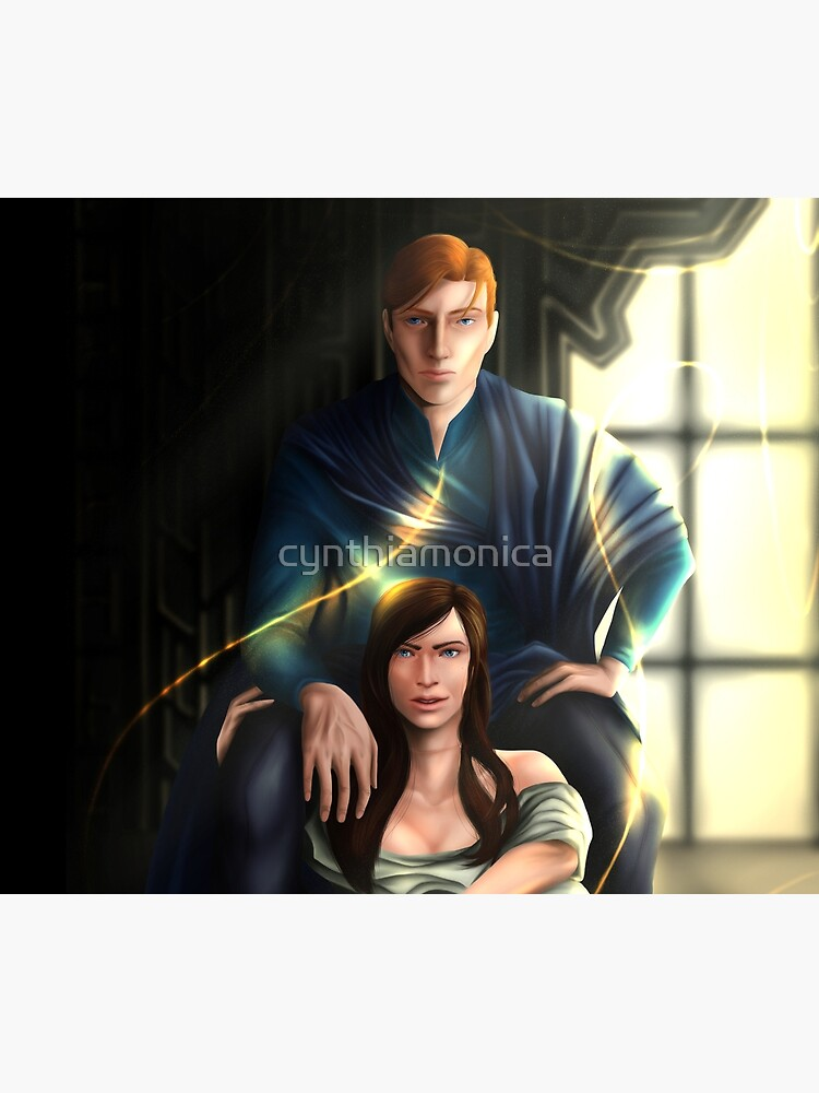 Reid and Lou - Serpent & Dove by cynthiamonica
