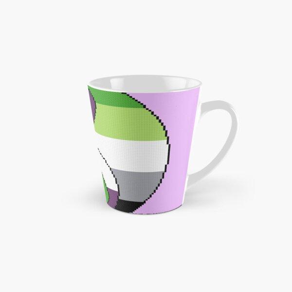 Ace Aro Yin Yang Aromantic Asexual Cross Stitch Tall Mug